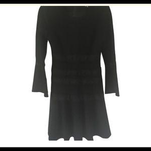 Kobi Halperin Lace Trim Fit and Flare Dress